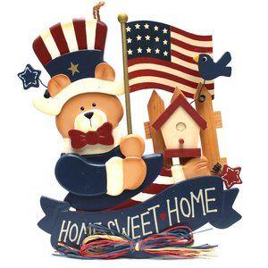 Fourth of July Americana Patroitic Home Decor Art
